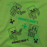 View 2 of Minecraft Spray Mobs Youth Tee photo.