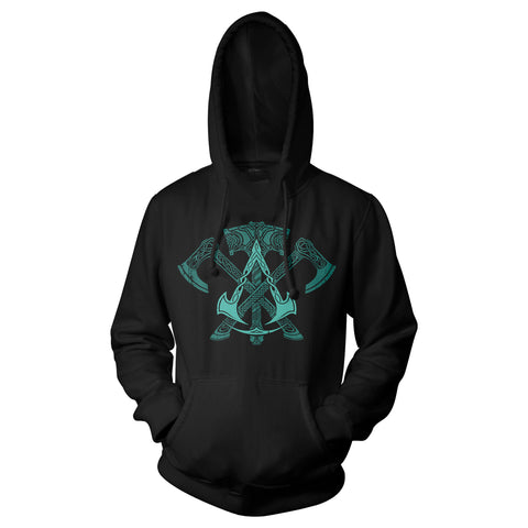 View 1 of Assassin's Creed Valhalla Mercenary Pullover Hoodie photo.