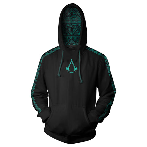 View 1 of Assassin's Creed Valhalla Battle Ready Pullover Hoodie photo.