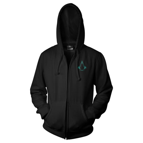 View 1 of Assassin's Creed Valhalla Spirits Above Zip-Up Hoodie photo.