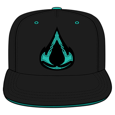 View 1 of Assassin's Creed Valhalla Viking Land Snapback Hat photo.