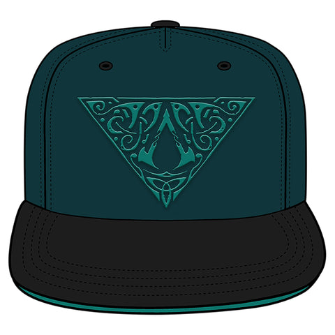 View 1 of Assassin's Creed Valhalla A New Land Snapback Hat photo.