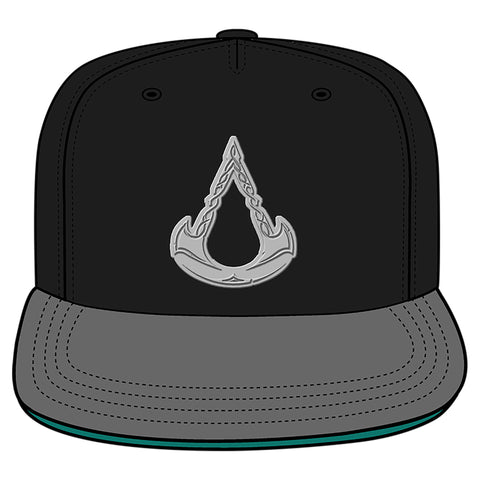 View 1 of Assassin's Creed Valhalla Cold Steel Snapback Hat photo.