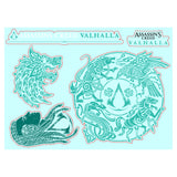 View 4 of Assassin's Creed Valhalla Gadget Sticker Sheet 3-Pack photo.