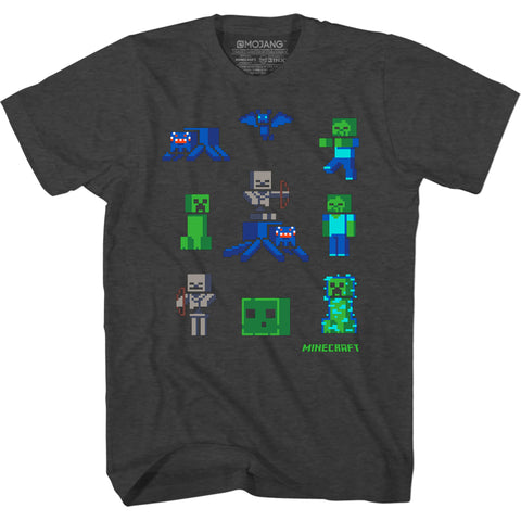 View 1 of Minecraft Buried Mine Youth Tee photo.