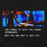 View 2 of Star Wars Not A Jedi Yet Premium Tee photo.