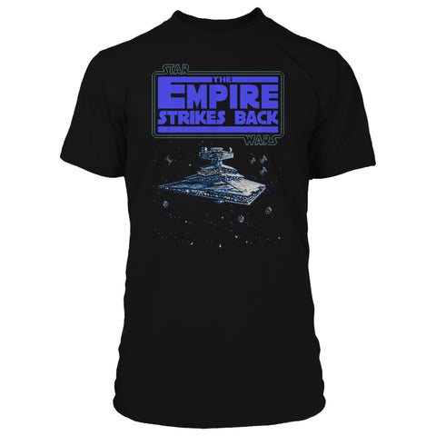 View 1 of Star Wars NES ESB Star Destroyer Premium Tee photo.