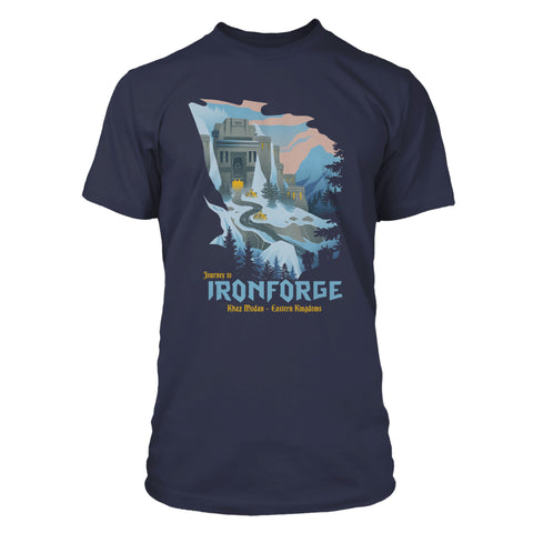 View 1 of World of Warcraft Journey to Ironforge Premium Tee photo.