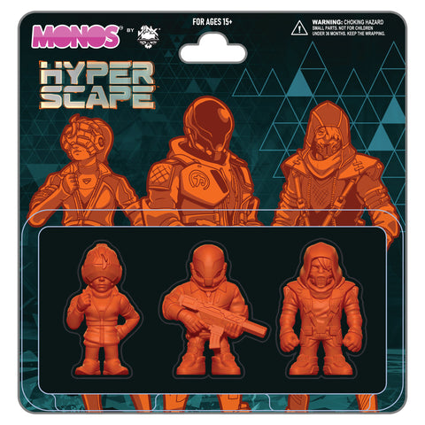 View 1 of Hyper Scape Monos Champions Set, Series 1 photo.