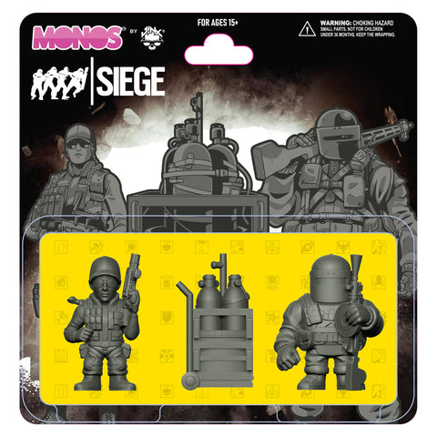 View 1 of Rainbow Six Siege Monos Disarm Set, Series 1 photo.