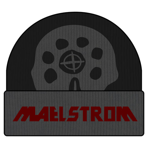 View 1 of Cyberpunk 2077 Maelstrom For Life Beanie photo.
