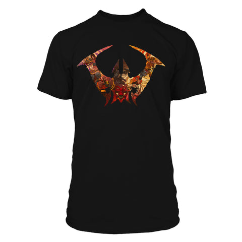 View 1 of Diablo IV Stained Glass Classes Premium Tee photo.