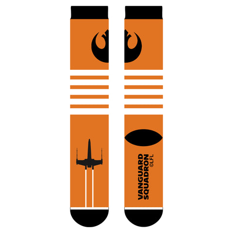 View 1 of Star Wars: Squadrons Vanguard Boot Warmers Socks photo.