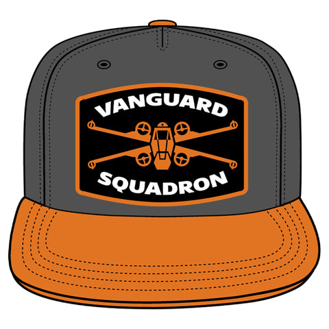 View 1 of Star Wars: Squadrons Vanguard Topper Snapback Hat photo.