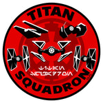 View 1 of Star Wars: Squadrons Titan Morale Woven Patch photo.