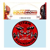 View 2 of Star Wars: Squadrons Titan Morale Woven Patch photo.