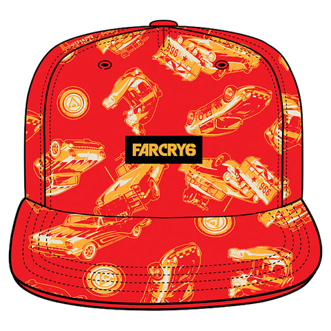 View 1 of Far Cry 6 Car Toss Snap Back Hat photo.