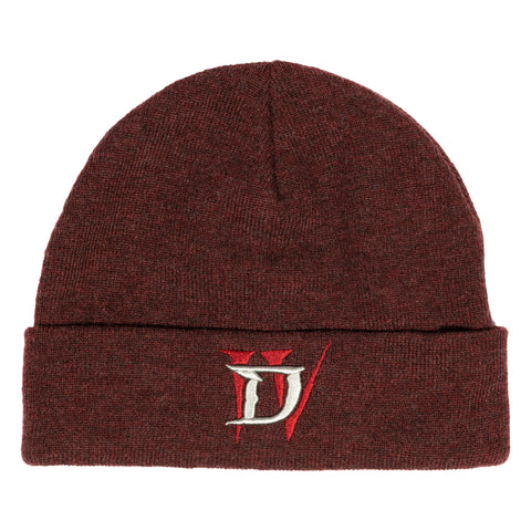 View 1 of Diablo IV A New Threat Beanie photo.