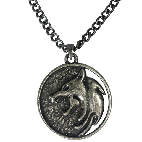 View 1 of Netflix: The Witcher Geralt Medallion Necklace photo.