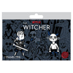 View 2 of Netflix: The Witcher Three's a Crowd 3-Pack Pin Set photo.