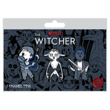 View 2 of Netflix: The Witcher Frenemies 3-Pack Pin Set photo.