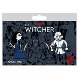 View 2 of Netflix: The Witcher Evil Is Evil Monsters 3-Pack Pin Set photo.
