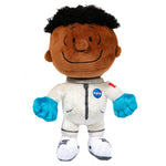 View 1 of Snoopy in Space Franklin White NASA Suit Small Plush photo.