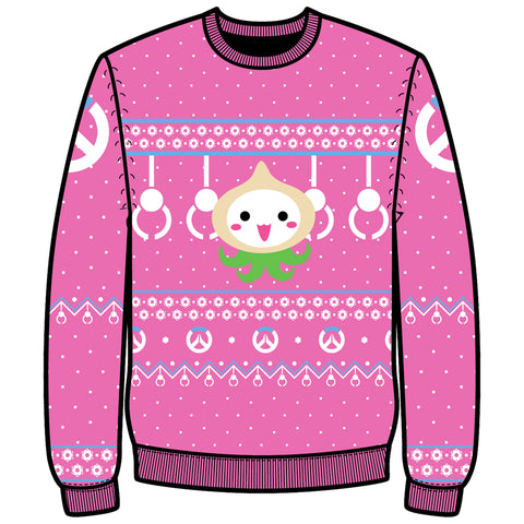 View 1 of Overwatch Pachimari Pals Ugly Holiday Sweater photo.