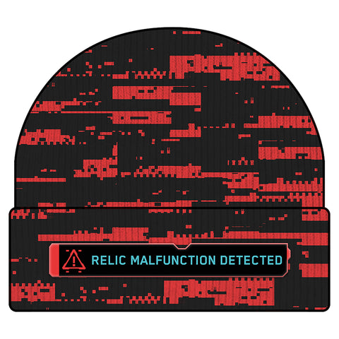 View 1 of Cyberpunk 2077 Relic Malfunction Beanie photo.