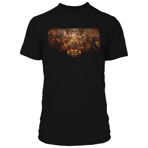 View 1 of Diablo II: Resurrected Drawn To Hatred Premium Tee photo.