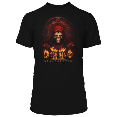 View 1 of Diablo II: Resurrected Key To Darkness Premium Tee photo.
