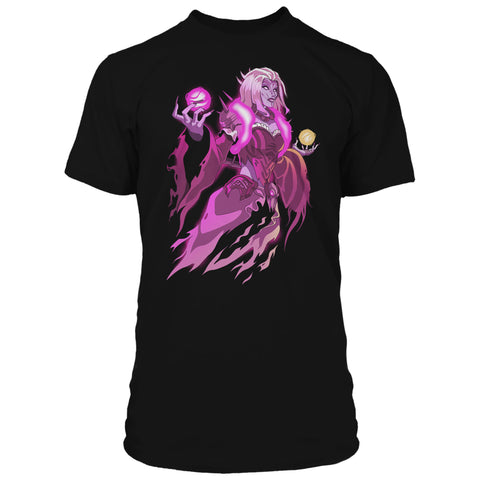 View 1 of Overwatch Banshee Moira Premium Tee photo.