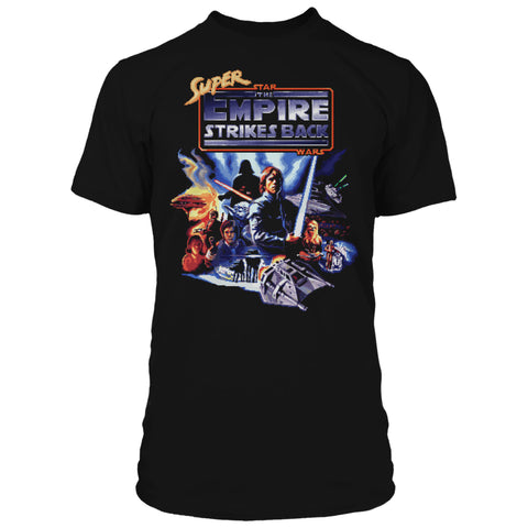View 1 of Star Wars Super ESB Title Premium Tee photo.
