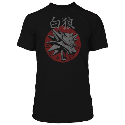 View 1 of The Witcher 3 Shiroi Okami Premium Tee photo.