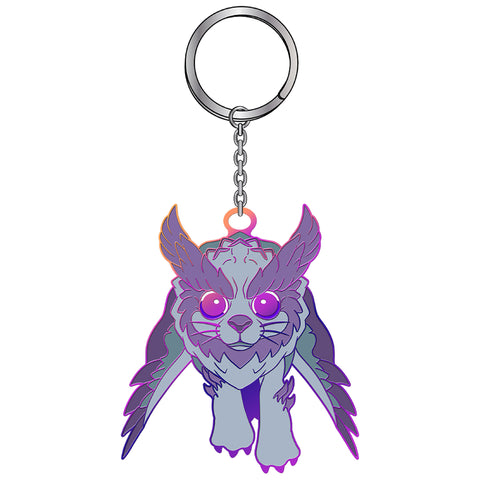 View 1 of the World of Warcraft Larion Pet Keychain photo.