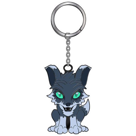 View 1 of the World of Warcraft Sable Pet Keychain photo.