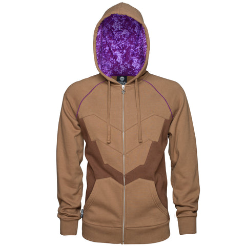 View 1 of StarCraft II Zerg Carapace Premium Zip-up Hoodie photo.