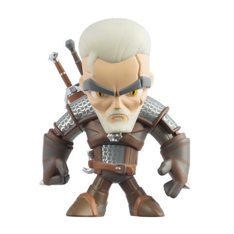 "View 1 of The Witcher 3 Geralt of Rivia 6"" Vinyl Figure photo."