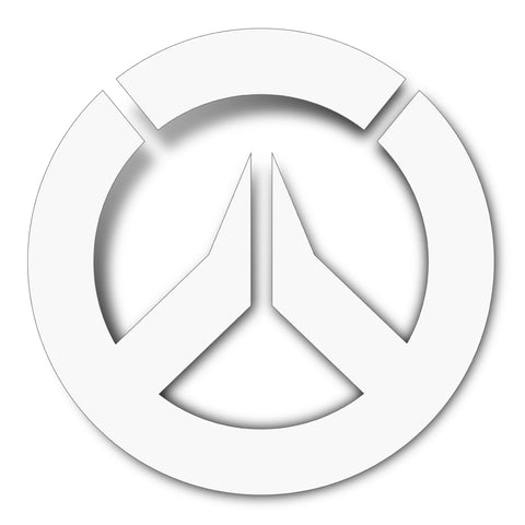 View 1 of Overwatch Logo Decal Sticker photo.