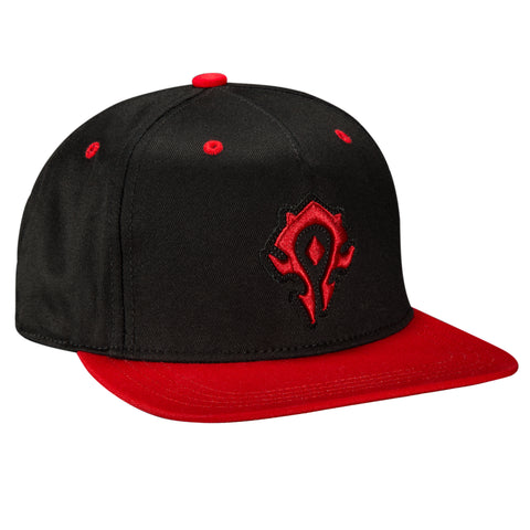 View 1 of World of Warcraft Legendary Horde Premium Snap Back Hat photo.