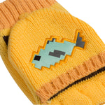 View 3 of Minecraft Ocelot Mittens photo.