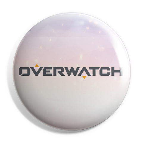 View 1 of Overwatch Logo Button photo.