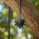 View 3 of The Witcher 3: Wild Hunt Medallion and Chain with LED Eyes photo.