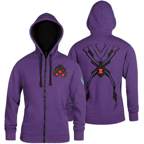 View 1 of Overwatch Ultimate Widowmaker Zip-Up Hoodie photo.