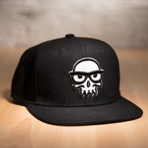 View 1 of J!NX Legacy Skull Premium Snap Back Hat photo.
