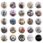 View 1 of Overwatch Buttons (50 Piece Assortment) photo.