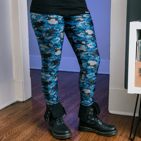 View 1 of J!NX Camo Women's Leggings photo.