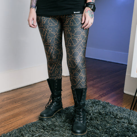 View 1 of J!NX Hex Women's Leggings photo.