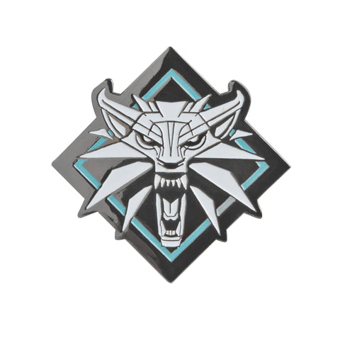 View 1 of The Witcher 3 Enamel Pin photo.