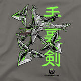 View 2 of Overwatch Genji's Warrior Spirit Youth Tee photo.